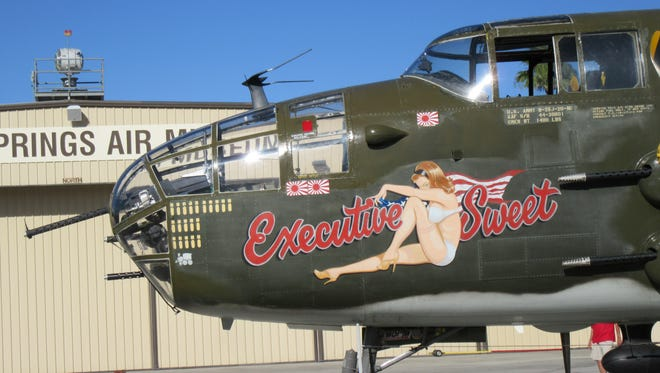 """The B-25 Mitchell Bomber """"Executive Sweet"""""""