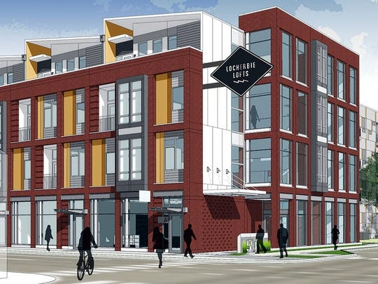 Lockerbie Lofts, a 211,000-square-foot project, will bring 215 apartments to Downtown Indianapolis.