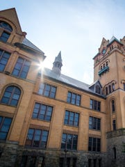 Wayne State University's Old Main.