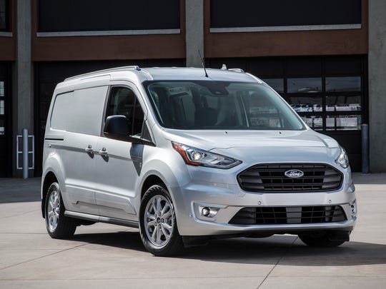 The 2019 Ford Transit Connect.