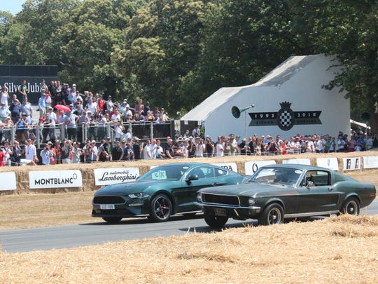 Ford Motor Co. flew the original 1968 Mustang GT Fastback, along with its owner Sean Kiernan and his family, to London in mid-July for the 2018 Goodwood Festival of Speed. Festival-goers got to see the car run, roar and rumble up the track twice a day during the four-day event. The stop in London was part of a global tour of the car as Ford readies to launch its limited edition 2019 version of the famous fastback.