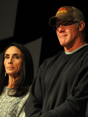 Brett and Deanna Favre