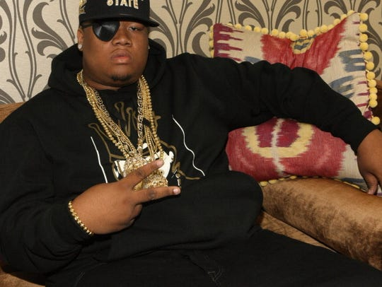 NEW YORK, NY - OCTOBER 03:  Recording artist Doe B