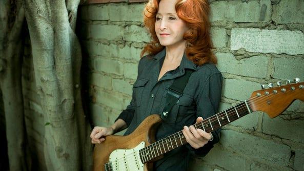 Bonnie Raitt returns to Memphis for a concert tonight