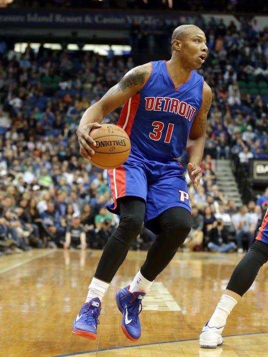 Pistons Timberwolves Basketball