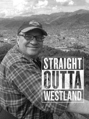 Westland comedian Keith Lenart has a little fun with his photo. Lenart performs a benefit Wednesday, Sept. 16, for the Michigan Humane Society.