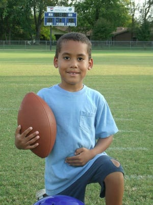 Dreyton Sims, 9, drowned in the Duck River earlier this week.