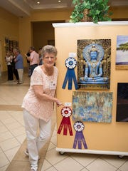 Helen Aponte of Port St. Lucie won second place in