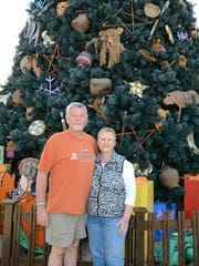 Marvin and Donna Reed on a trip with their family to Walt Disney World this past December.
