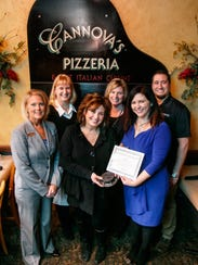 Cannova's was recognized for embracing the Downtown