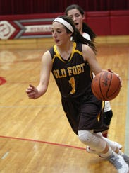 Alli Adelsperger and Old Fort earned a share of the league championship.