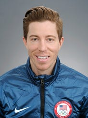 Shaun White is part of the U.S. Olympic snowboard team.