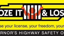 The Booze It & Lose it campaign aims to reduce drunken driving.