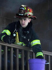 Spring Valley Firefighter Yehuda Schweitzman will be