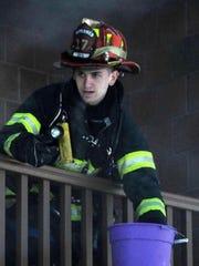 Spring Valley Firefighter Yehuda Schweitzman will be