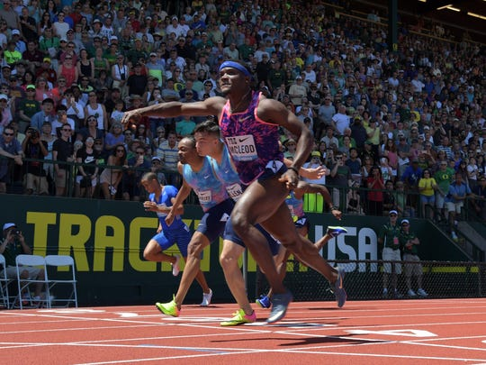 Omar McLeod has been practically unbeatable in the 110 hurdles the last two years. He also wants to test himself against the world's top sprinters.