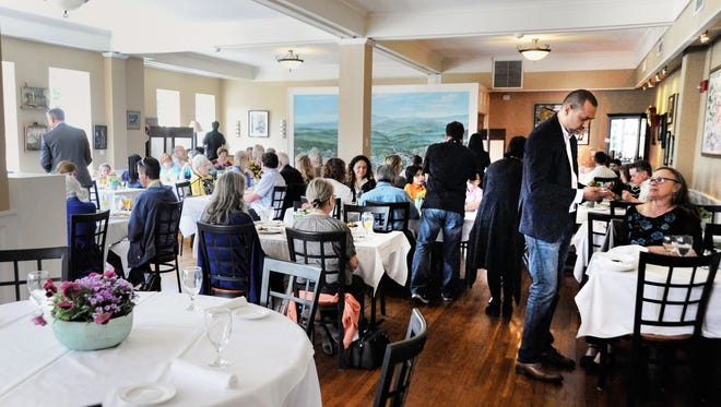 Nearly 250 people showed up to the Monte Vista Hotel on Easter when Milton's Cuisine & Cocktails, which will open there permanently this May, served brunch.