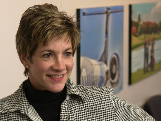 Lynda Weatherman, president and chief executive officer of Economic Development Commission of Florida's Space Coast, proposed the amendment to the county's grant agreement related to disclosure of financial records that commissioners approved.