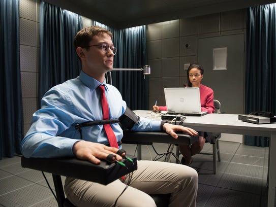 Edward Snowden (Joseph Gordon-Levitt) is subjected
