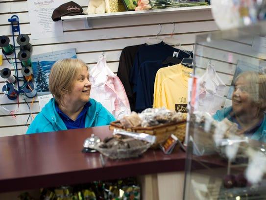 Debbie Schlicker, co-owner of Sydney Bogg's Sweet Essentials,
