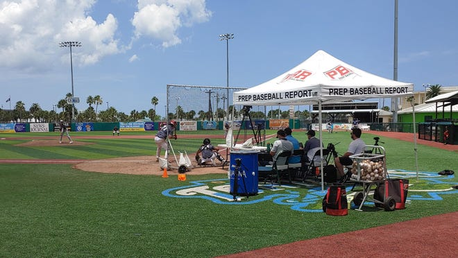 A prep baseball showcase took advantage of an open date last week at Jackie Robinson Ballpark.