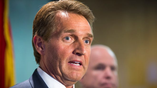 The anti-immigration group Californians for Population Stabilization is running a TV ad in Arizona that criticizes the pro-reform immigration record of Sen. Jeff Flake, R-Ariz.