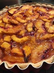 Summertime Peach Tart offers intense flavor for dessert