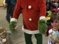 Carlsbad residents enjoy a public Christmas party,
