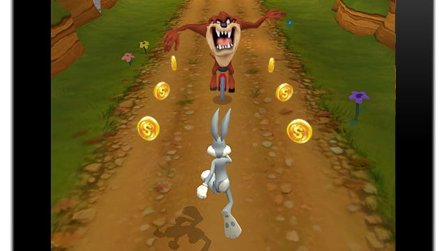 A screenshot from the mobile game 'Looney Tunes Dash!'