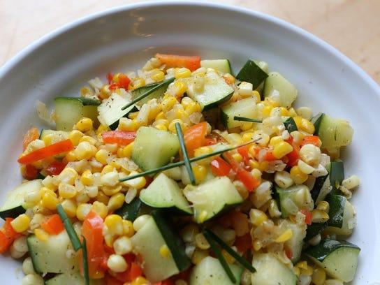 Healthy Table: Savor summer flavor with no-fuss zucchini, corn