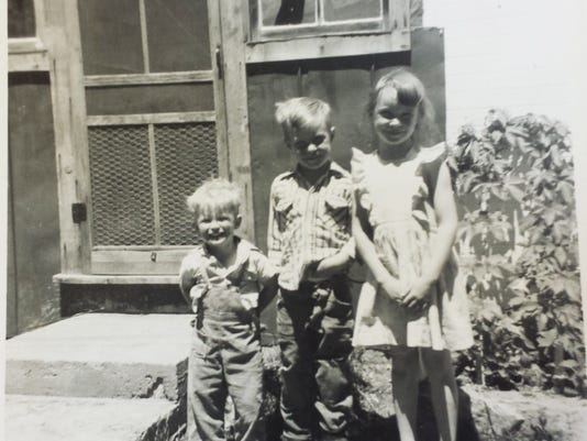 Julie Carter and brothers