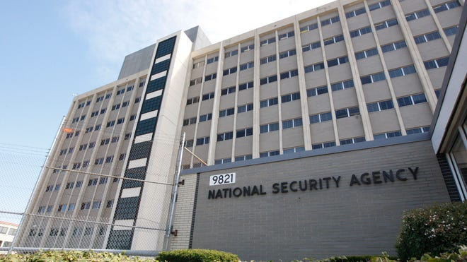 The National Security Agency headquarters.
