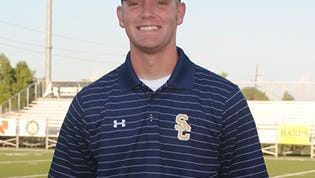 Auburn named Austin Tucker, shown here as a offensive coordinator at Shiloh Christian High School in Springdale, Ark.,  as its newest graduate assistant for the 2016 season.