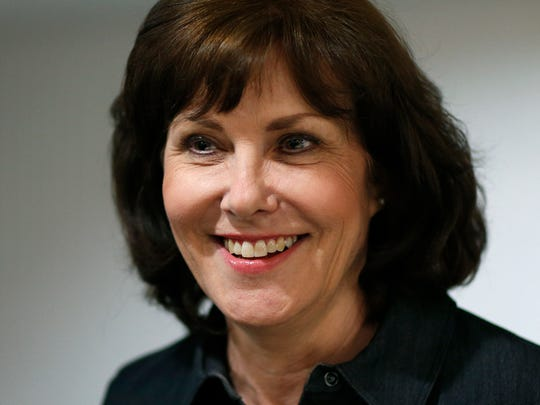 In this June 14, 2016 file photo, then candidate Jacky Rosen attends an election night party in Las Vegas.