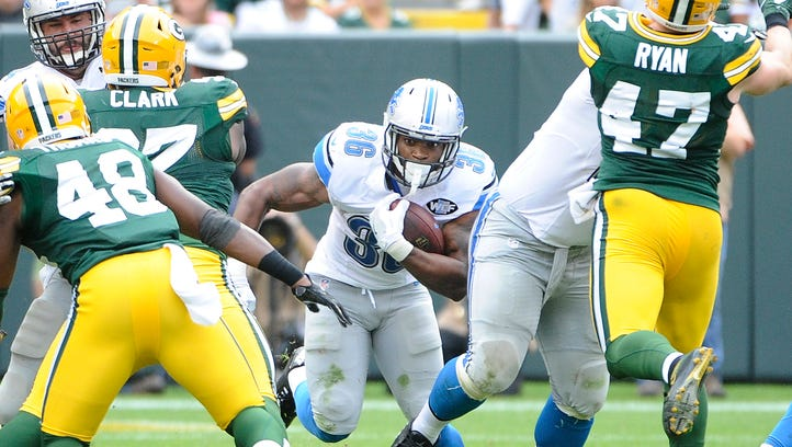 Lions' RB Washington struggling to explode off launch pad