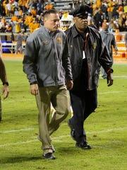 Tennessee Volunteers head coach Butch Jones.
