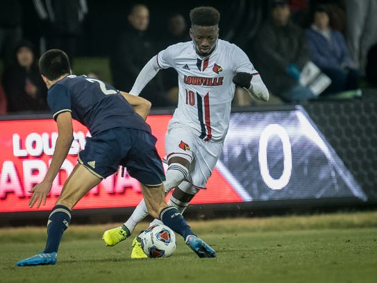 Louisville's Mohamed Thiaw was drafted by the San Jose Earthquakes in the 2018 MLS draft.