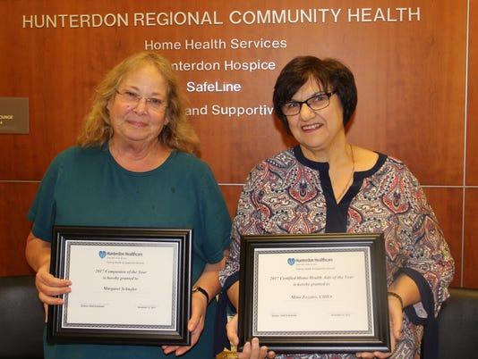 Heartbeats: Schuyler, Zozzaro receive awards PHOTO CAPTION
