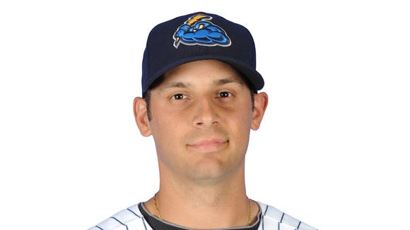 Yankees infielder Dan Fiorito