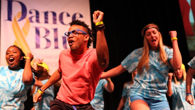 DanceBlue, now in its tenth year is the largest student run philanthropy event in the South Eastern Conference.