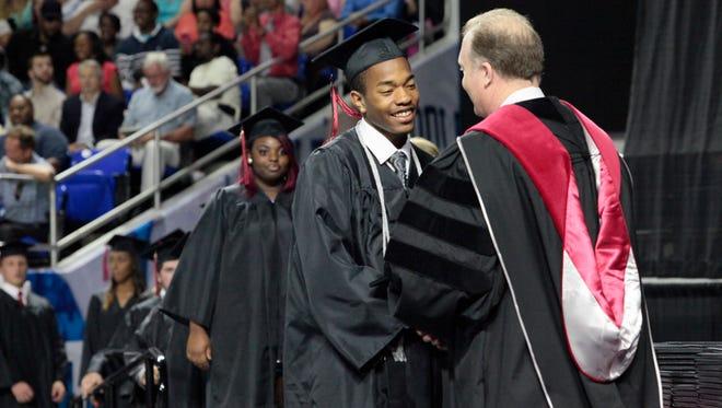 Stewarts Creek graduation at MTSU.