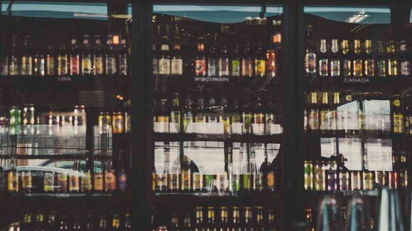 A vast beer selection is pictured at a World of Beer location.