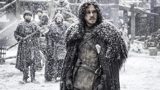 "Kit Harington, pictured on ""Game of Thrones""."