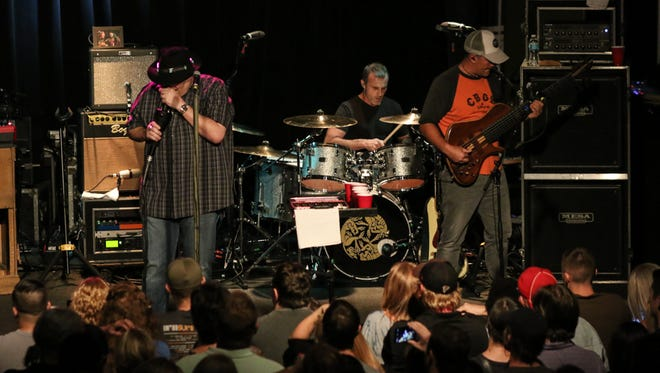 Blues Traveler performs Saturday night during their sold-out Vinyl Music Hall show.