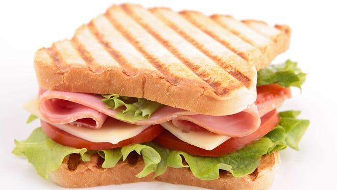 Illustration of sandwich