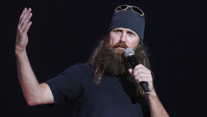 """""""Duck Dynasty"""" star Jase Robertson will be the guest speaker at this Sunday's service at Henderson's First Assembly of God."""