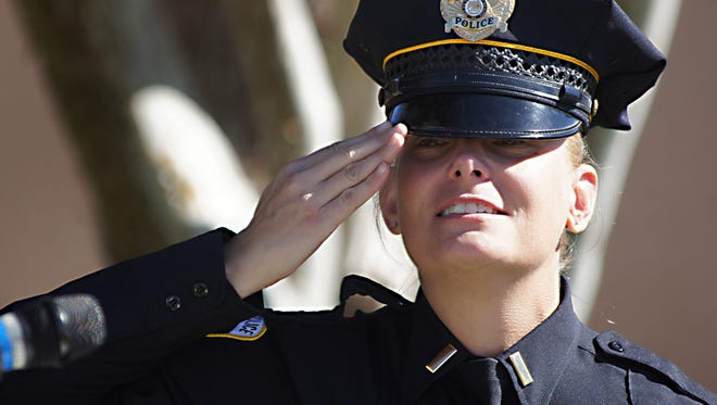 Deming Police Lt. Kathleen Schindler, a United States Marine, has been invited to speak at Wednesday's Veterans Day ceremony at 11 a.m. at Veterans Park.
