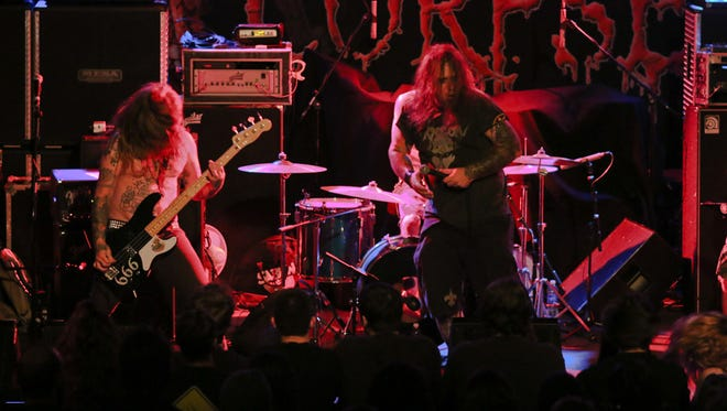 Dark Star Coven opening for Cannibal Corpse at Vinyl Music Hall.