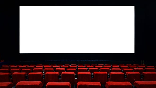 Movie theater illustration