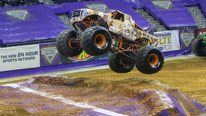 Monster Jam is coming to the Pensacola Bay Center on Saturday and Sunday.